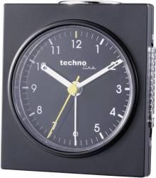 Q Schwarz Quartz Alarm Clock