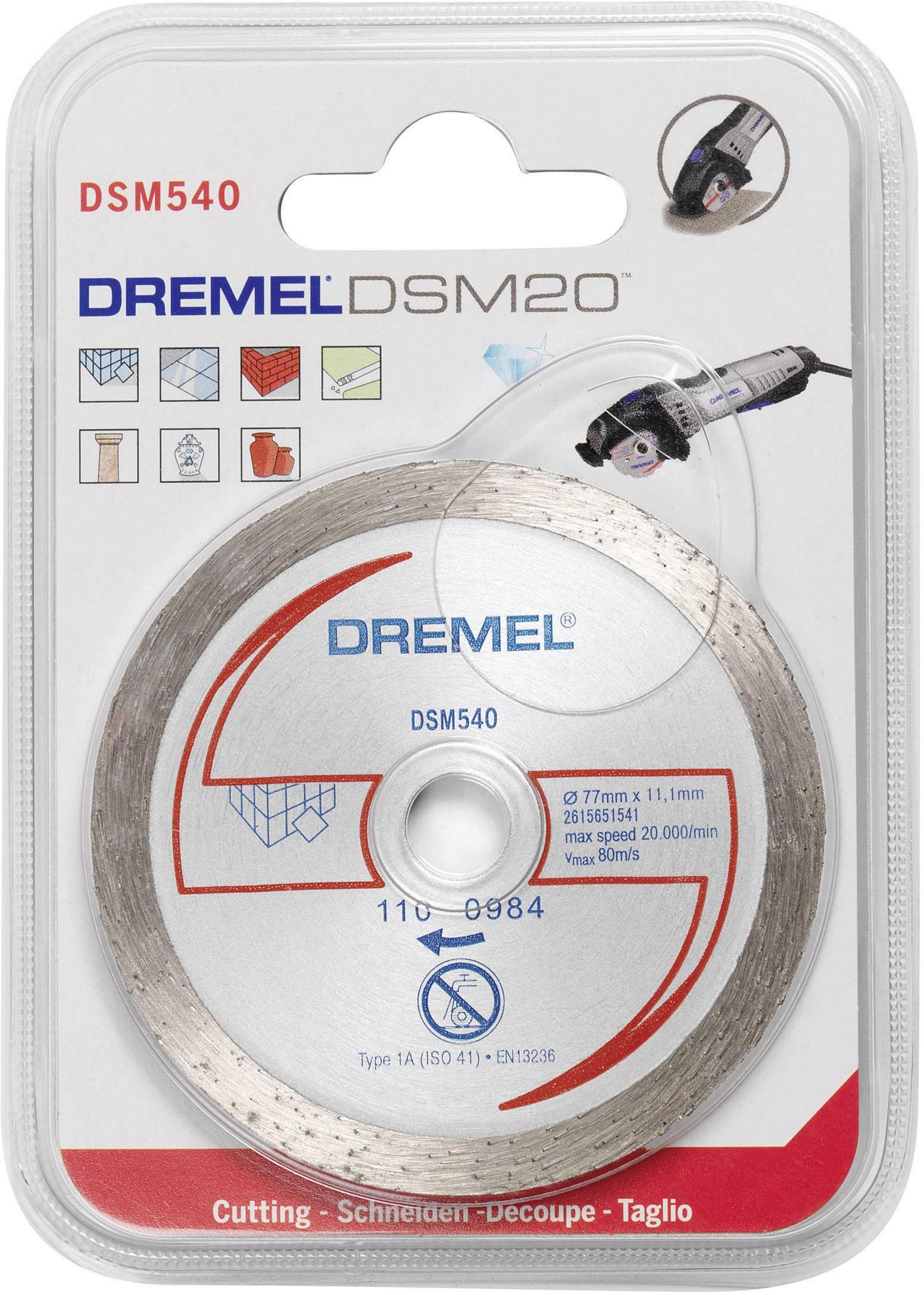 dremel 2615s540ja dremel dsm20 diamond tile cutting wheel dsm540 diameter 77 mm 1 pc s