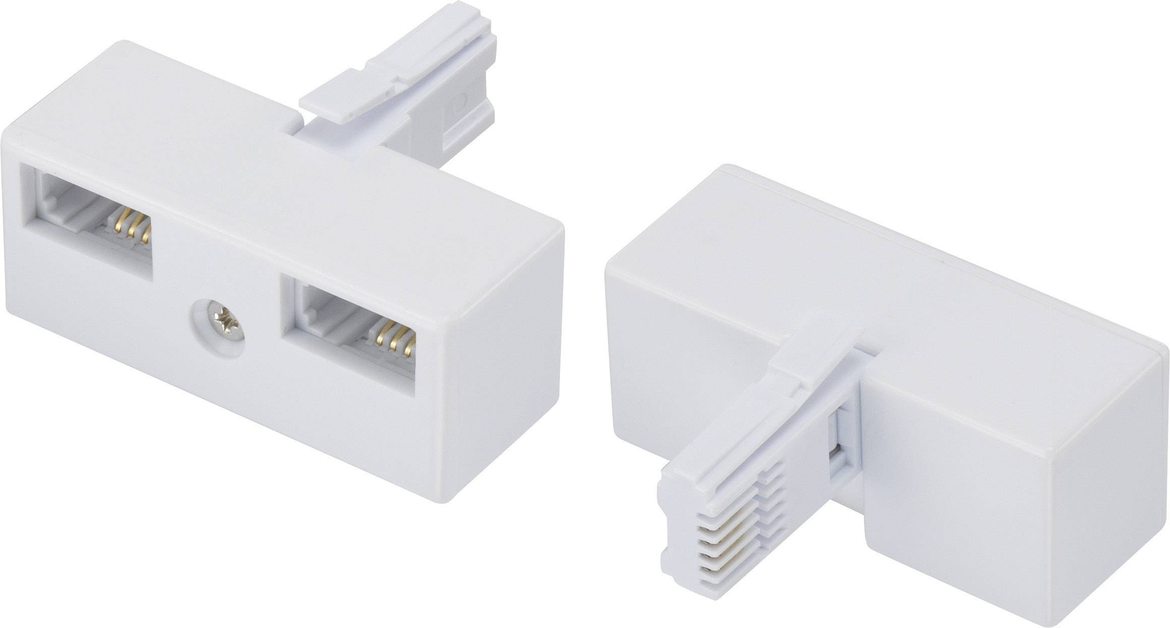 phone y adapter 1x bt plug uk 2x bt socket uk 0 m white [ 1000 x 1000 Pixel ]
