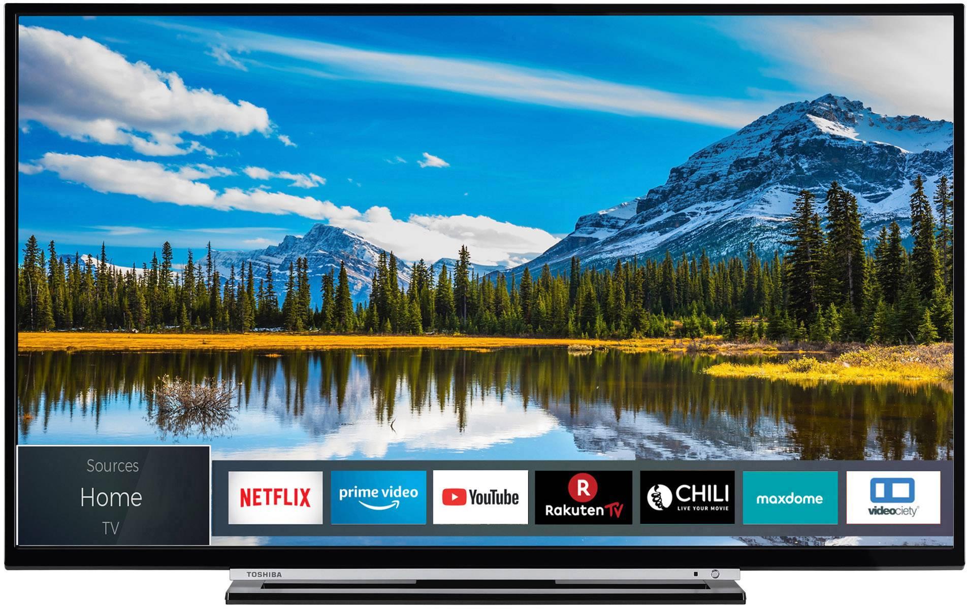 televiseur led toshiba 39l3863da 99 cm 39 pouces eec a a e dvb t2 dvb c dvb s full hd smart tv wi fi ci no