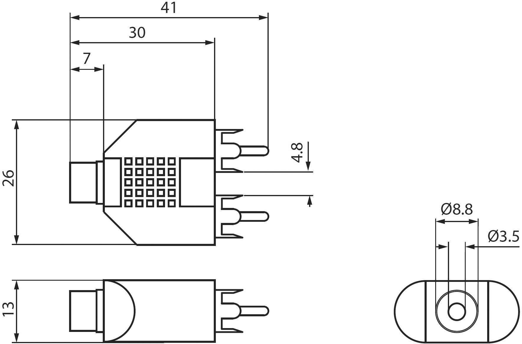 Adapter Rca Jack Wtyk 2x Rca Gniazdo Jack 3 5 Mm Czar