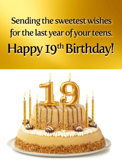 Happy 19th Birthday Images