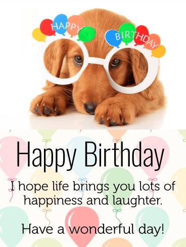 Happy Birthday Dog Lover : happy, birthday, lover, Celebrating, Happy, Birthday, Greeting, Cards, Davia