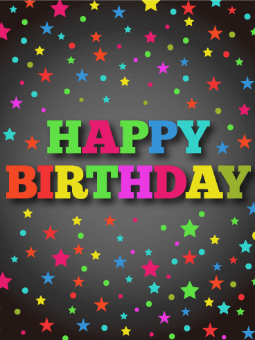 Happy Birthday Blinking Images : happy, birthday, blinking, images, Blinking, Birthday, Cards, Design, Template