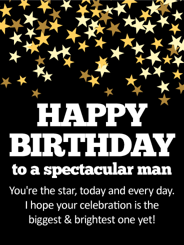 To The Most Wonderful Guy Happy Birthday Card Birthday Amp Greeting Cards By Davia