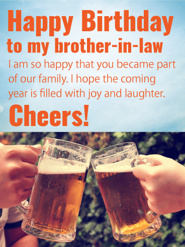 Funny Brother In Law Birthday : funny, brother, birthday, Happy, Birthday, Brother-in-law, Messages, Images, Wishes, Davia