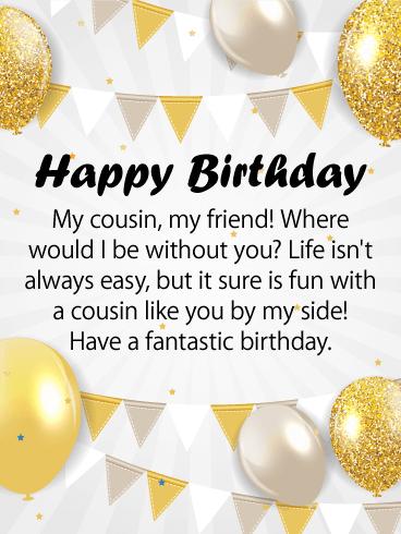 Happy Birthday Sister Cousin : happy, birthday, sister, cousin, Happy, Birthday, Cousin, Messages, Images, Wishes, Davia