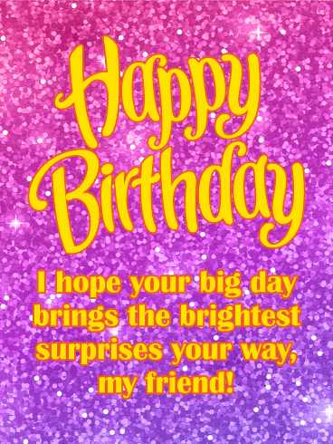 Sparkle Glamorous Happy Birthday Images : sparkle, glamorous, happy, birthday, images, Birthday, Sparkle, Wishes, Cards, Greeting, Davia, ECards
