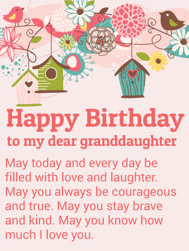 Birthday Cards For Granddaughter Birthday Amp Greeting