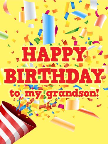 Happy Birthday Grandson SMS