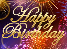 Happy Birthday Fireworks Cards | Birthday & Greeting Cards ...
