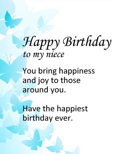 Happy Birthday To My Little Niece : happy, birthday, little, niece, Birthday, Wishes, Niece, Messages, Davia