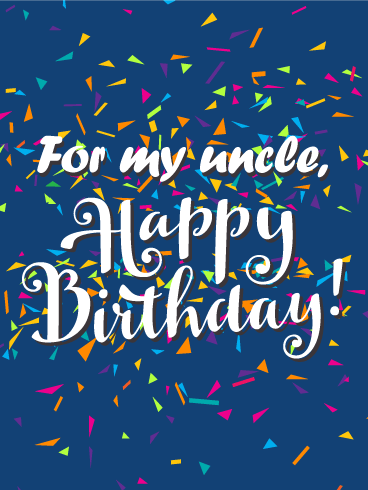 Have The Best Celebration! Happy Birthday Wishes Card For