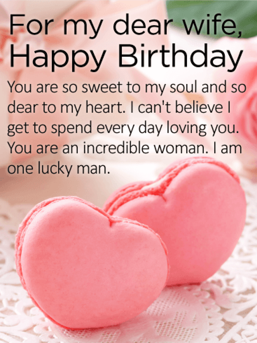 Birthday Wishes for Wife - Birthday Wishes and Messages by Davia