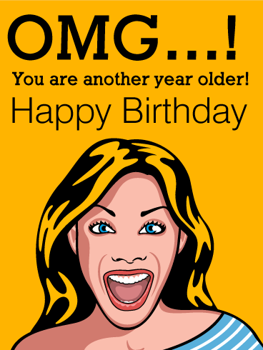 Facebook Birthday Cards Funny : facebook, birthday, cards, funny, Shocking, Funny, Birthday, Greeting, Cards, Davia