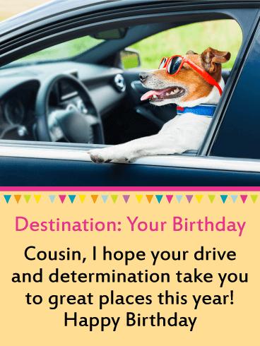 For My Brilliant Cousin Happy Birthday Card Birthday