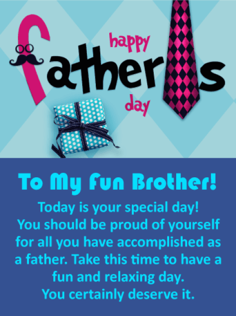 Happy Fathers Day To My Brother Images