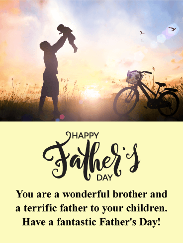 Brings You Joy Happy Father's Day Cards For Uncle