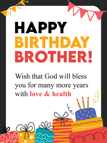 Birthday Images For Brother : birthday, images, brother, Superb, Birthday, Brother, Greeting, Cards, Davia
