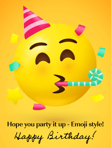 happy birthday emoji text - Bing