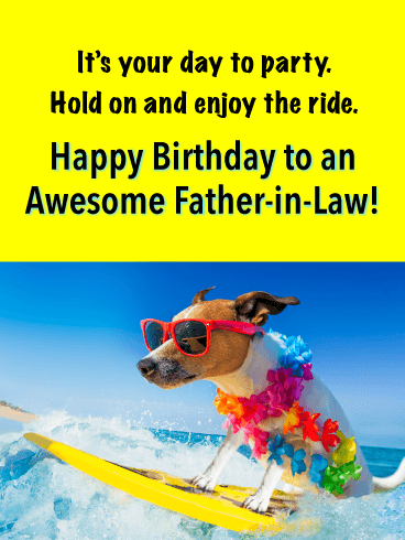 Father In Law Birthday Meme : father, birthday, Birthday, Wishes, Father-in-Law, Messages, Davia