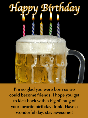 Alcoholic Happy Birthday Wishes : alcoholic, happy, birthday, wishes, Funny, Birthday, Quotes, Drinking, Manny, Quote