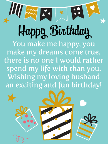 Birthday Quotes For Husband Funny : birthday, quotes, husband, funny, Birthday, Wishes, Husband, Messages, Davia