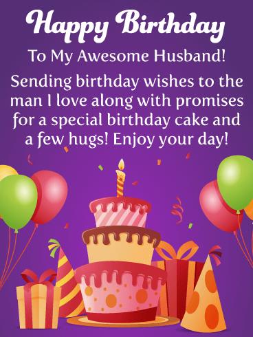 cake and presents happy
