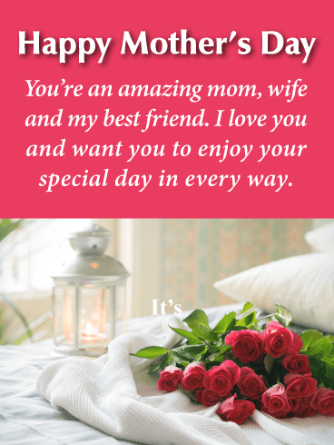 Happy Mothers Day Bestie Images : happy, mothers, bestie, images, Happy, Mother's, Birthday, Greeting, Cards, Davia