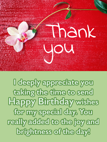 Thank You For The Congratulations : thank, congratulations, Sweet, Flower-, Thank, Birthday, Wishes, Greeting, Cards, Davia