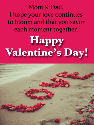 Funny Valentines Day Quotes For Parents : funny, valentines, quotes, parents, Happy, Valentine's, Wishes, Parents, Birthday, Messages, Davia