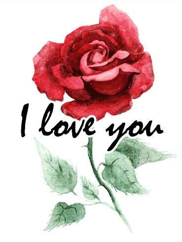flower love cards birthday