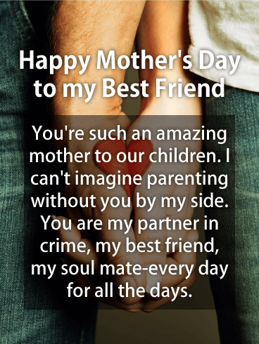 Happy Mothers Day Bestie Images : happy, mothers, bestie, images, Partner, Crime, Happy, Mother's, Birthday, Greeting, Cards, Davia
