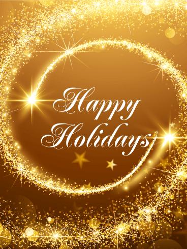 Season's Greetings Cards 2018 Happy Holidays Greetings