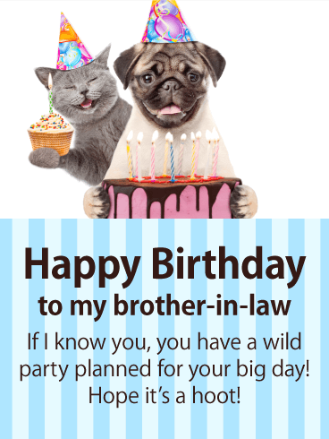Happy Birthday Brother In Law Funny Meme : happy, birthday, brother, funny, Happy, Birthday, Brother-in-law, Messages, Images, Wishes, Davia