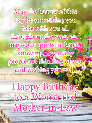 Happy Birthday Mother In Law Gif : happy, birthday, mother, Birthday, Wishes:, Happy, Wishes, Mother