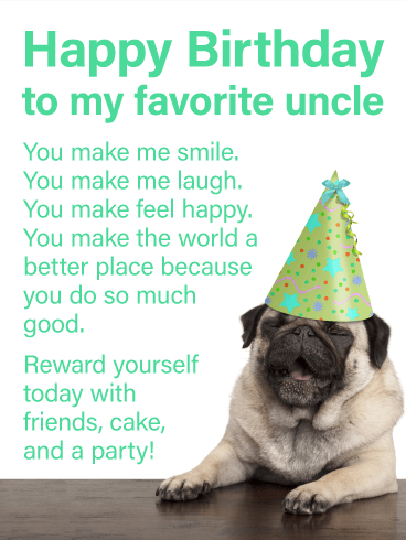 Birthday Card Ideas For Uncle : birthday, ideas, uncle, Happy, Birthday, Uncle, Greeting, Cards, Davia