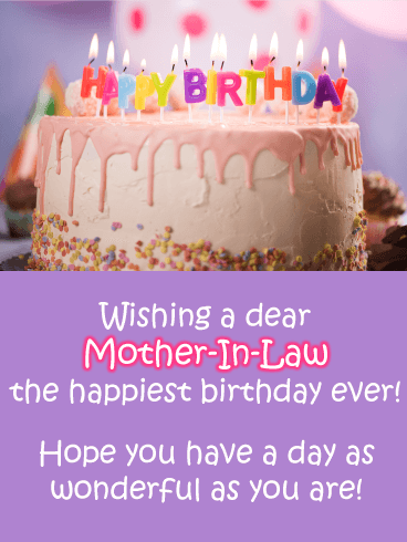 Religious Birthday Wishes For Mother In Law : religious, birthday, wishes, mother, Birthday, Wishes, Mother-in-Law, Messages, Davia