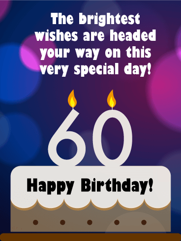 happy 60th birthday messages