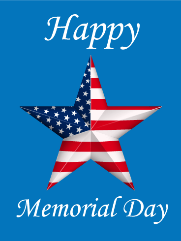 Wooden Designed Happy Memorial Day Card Birthday Amp Greeting Cards By Davia