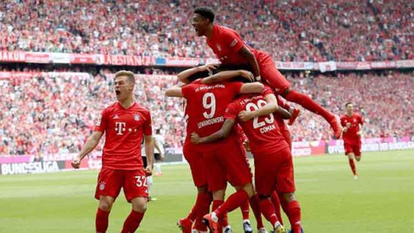 Hasil Pertandingan Babak Pertama Bundesliga Munchen vs
