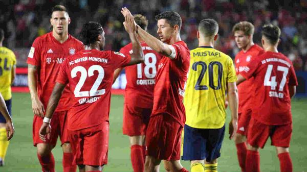 Hasil Pertandingan ICC Cup 2019 Arsenal vs Bayern Munchen
