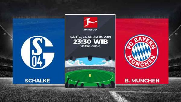 Hasil Pertandingan Bundesliga 201920 Schalke vs Bayern