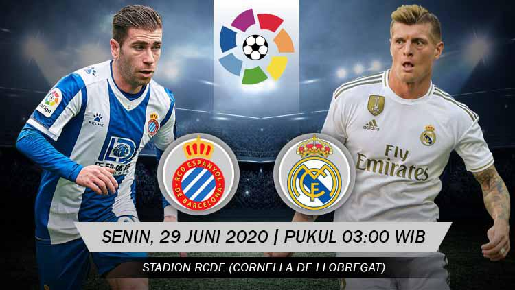 Live Streaming Link Laliga Spain Espanyol Vs Real Madrid World Today News