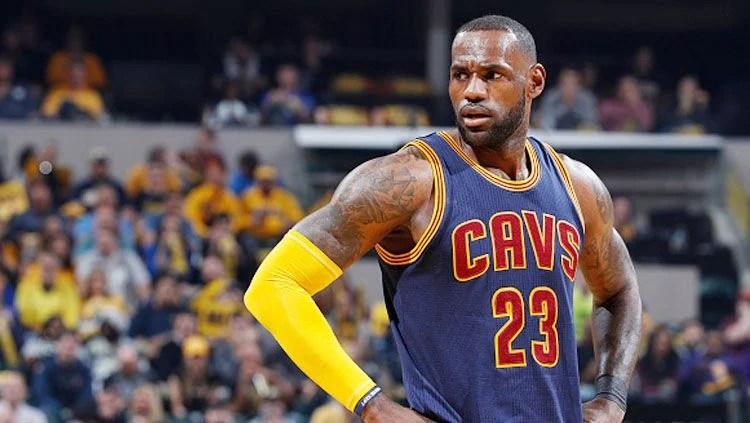 Pebasket Cleveland Cavaliers, LeBron James. Copyright: © Joe Robbins/Getty Images