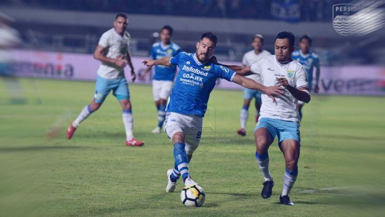 Hasil Pertandingan Liga 1 2018 Persib Vs Persela Indosport