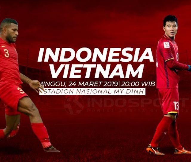 Susunan Pemain Pertandingan Timnas Indonesia U  Vs Vietnam