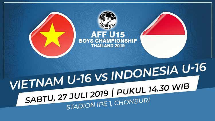 Jadwal Siaran Langsung Piala Aff U 15 2019 Indonesia Vs