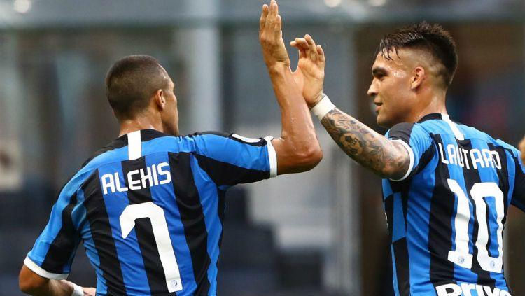 Hasil Serie A Inter Milan Vs Brescia Pesta Besar I