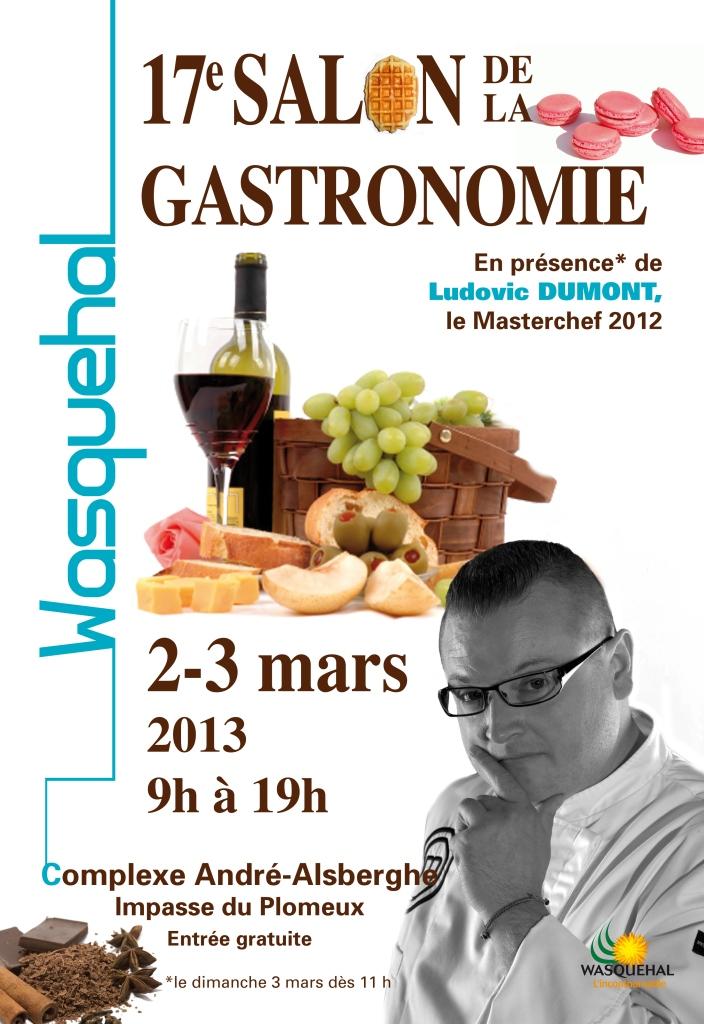 Salon de la Gastronomie 2013 Wasquehal 59290